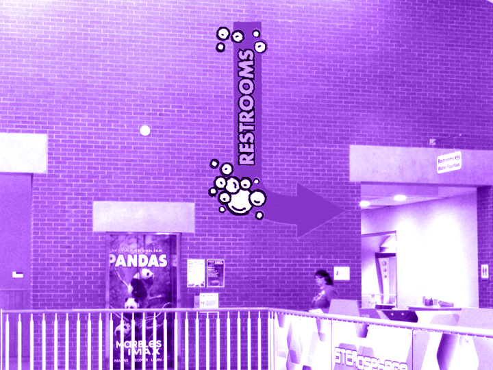 Improving wayfinding & guest experience at Marbles Kids' Museum