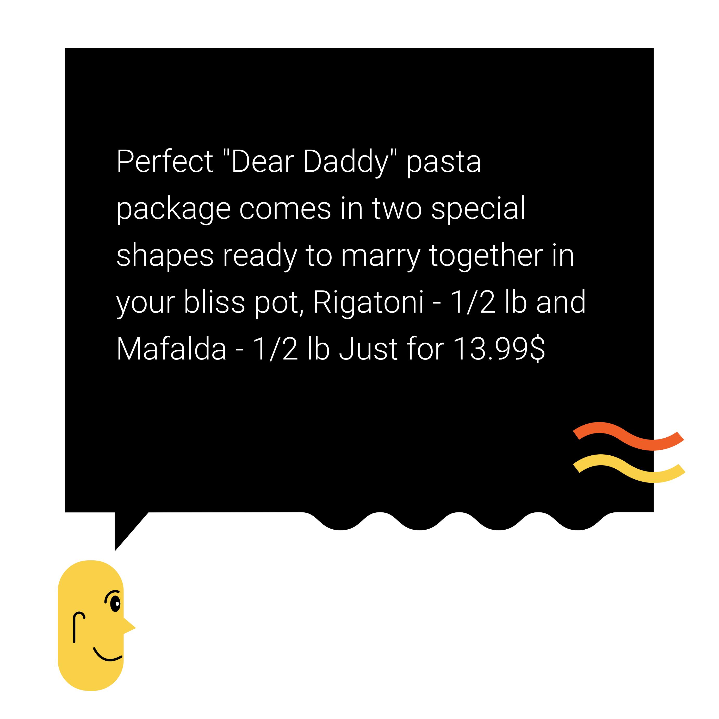 Freshalian Pasta - UX Writing