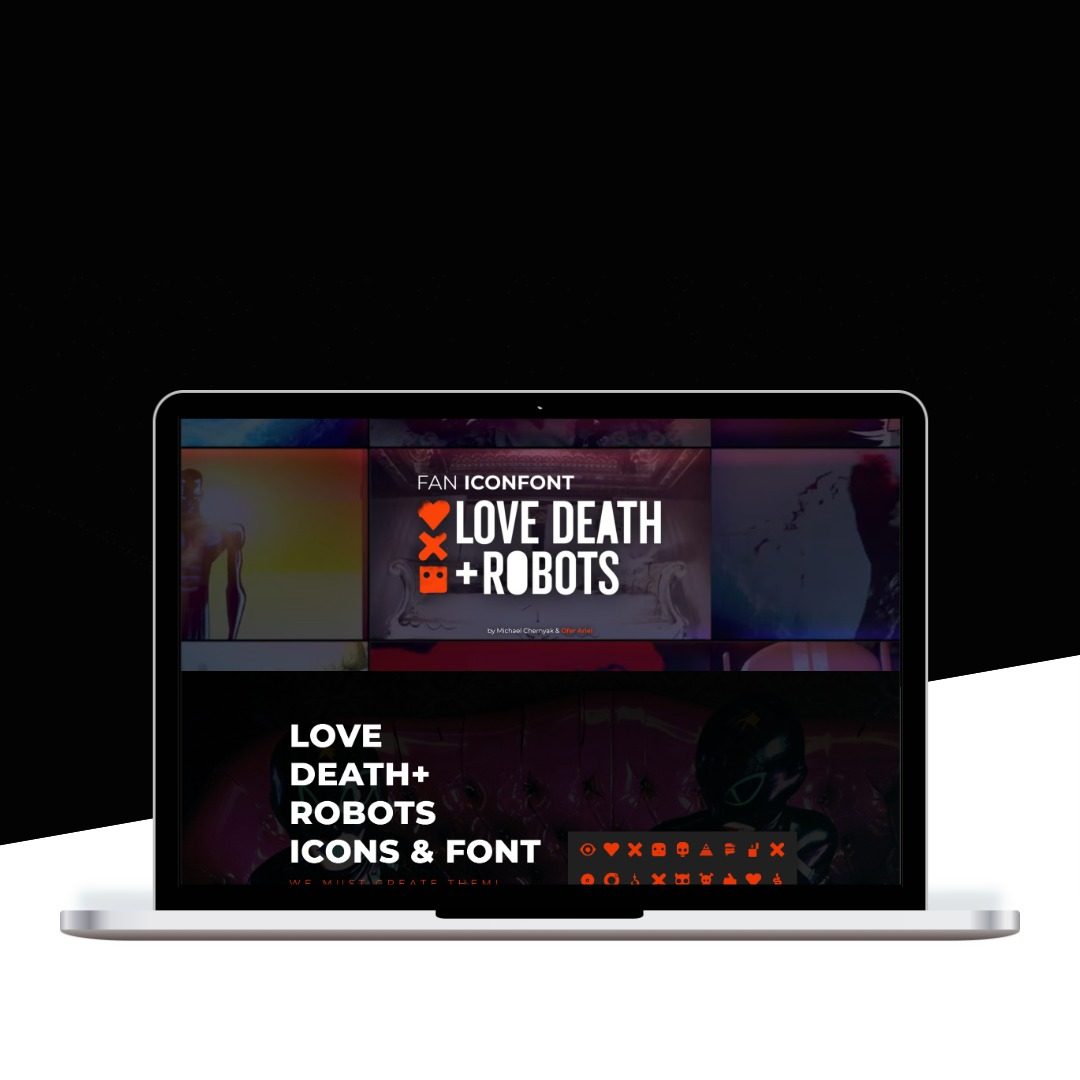 Love, Death+ Robots Iconfont