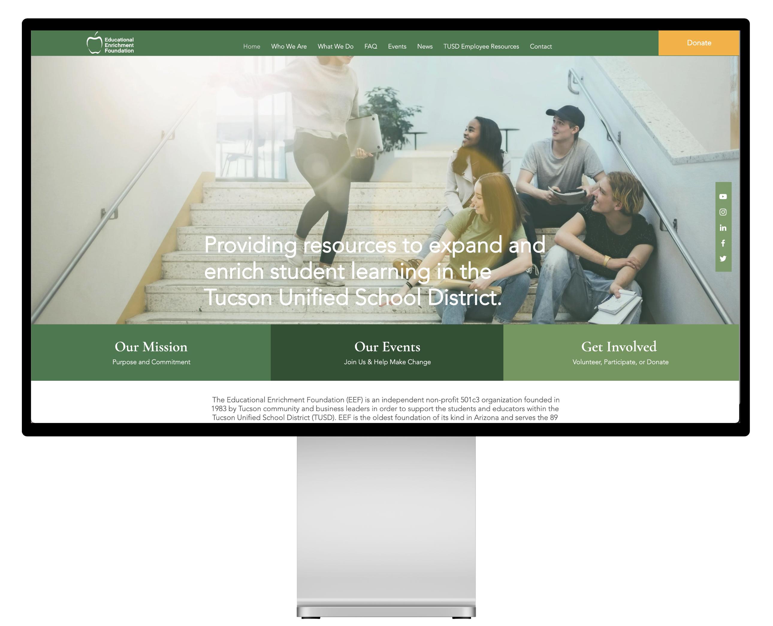 responsive web redesign
