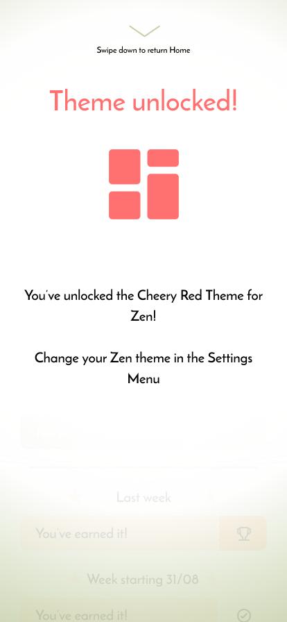 Screen design displayed in a mockup