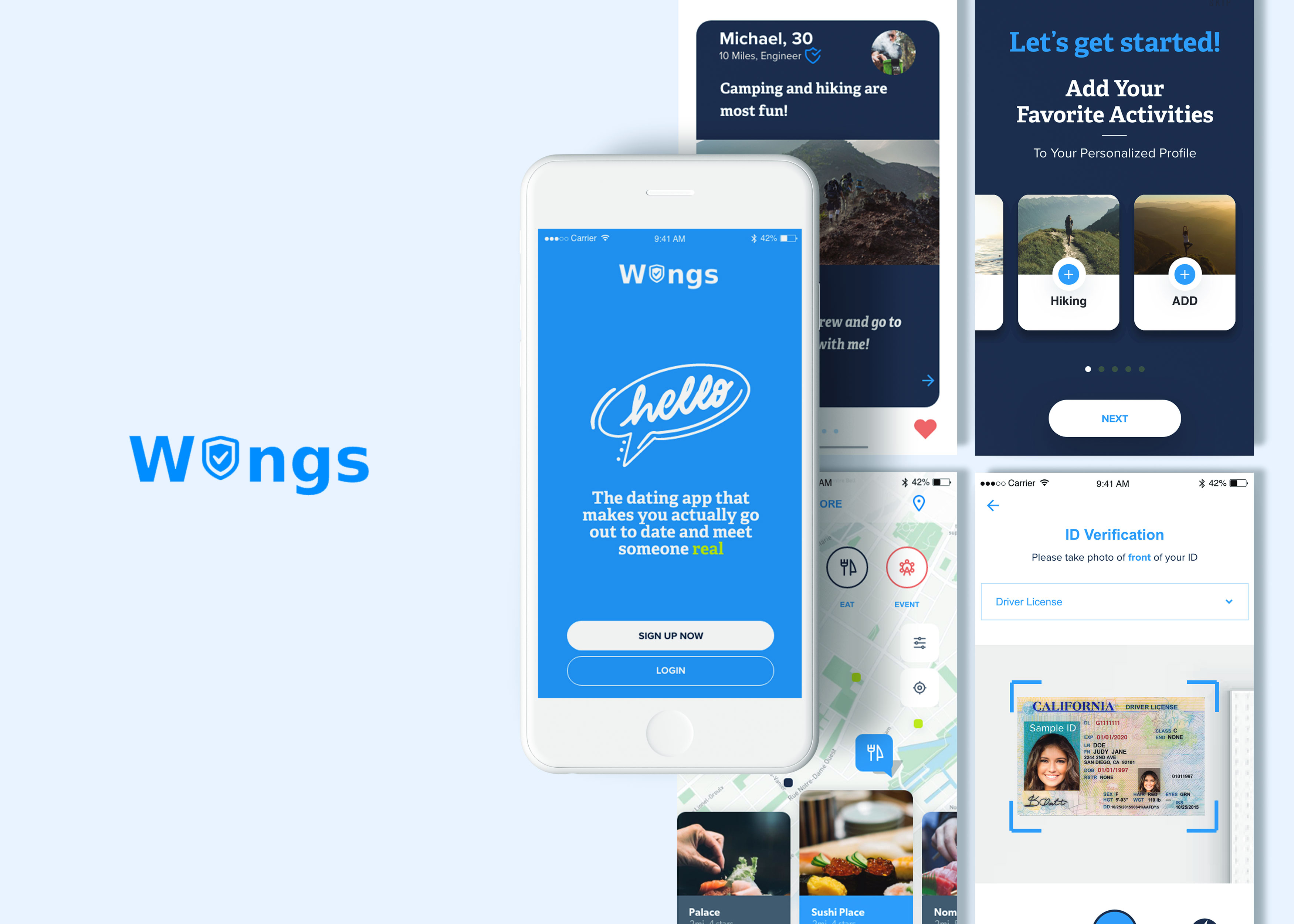 Mobile App: Wings