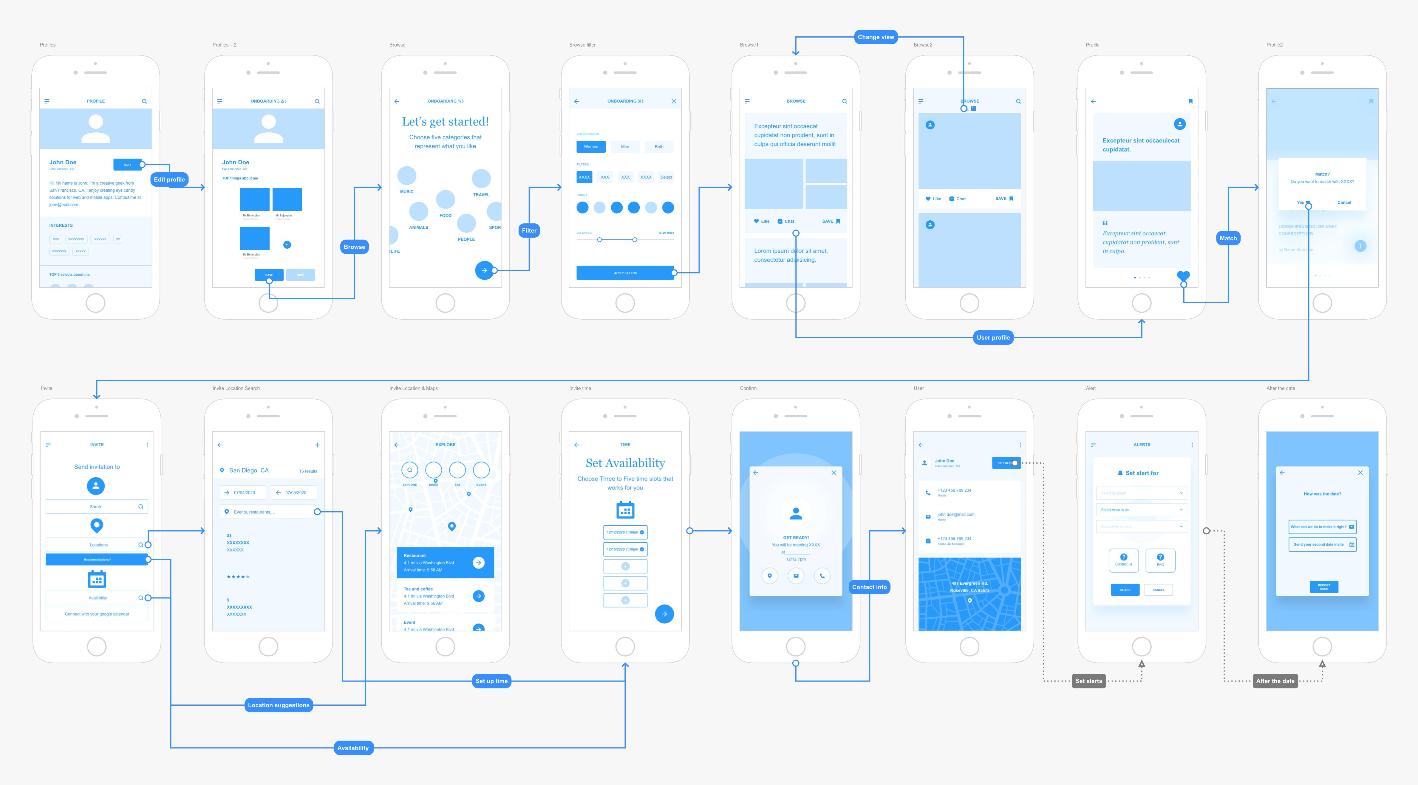 Mobile App: Wings