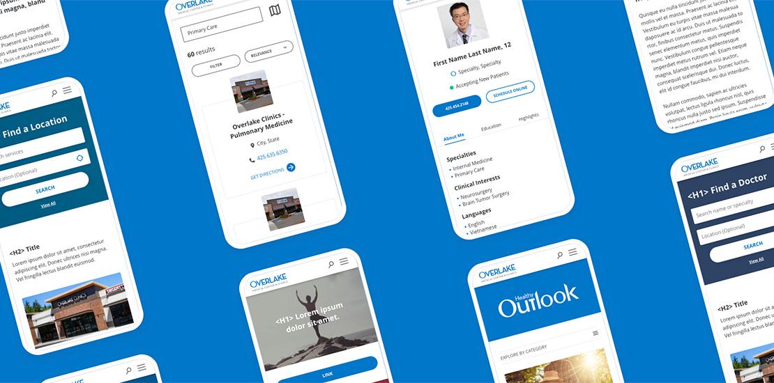 Overlake Medical Center & Clinics Website