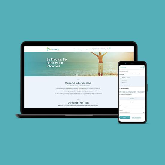 BeFunctional Health eCommerce