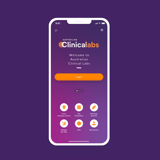 Clinical Labs - Patient App