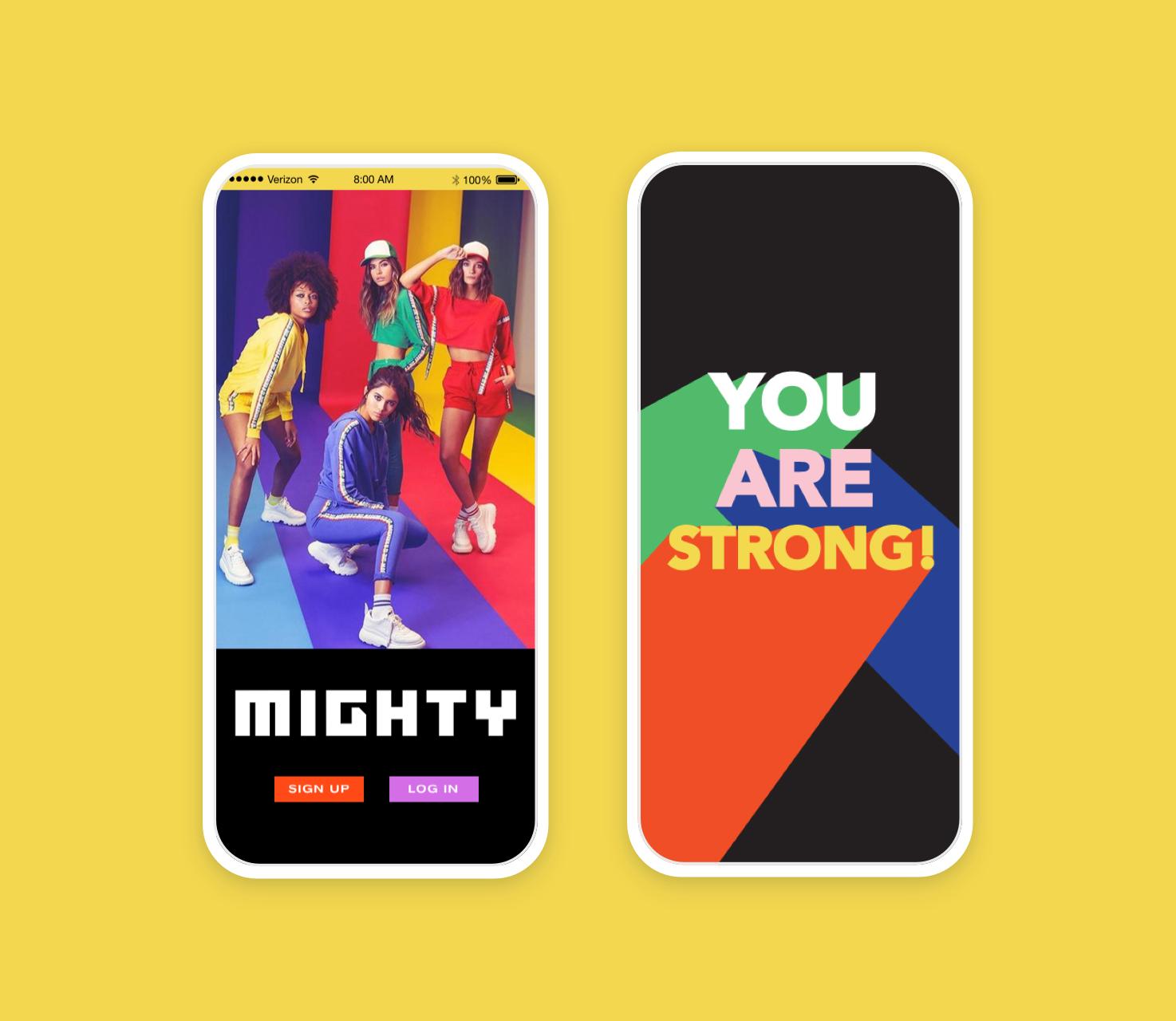 Mighty iOS app - Product Design