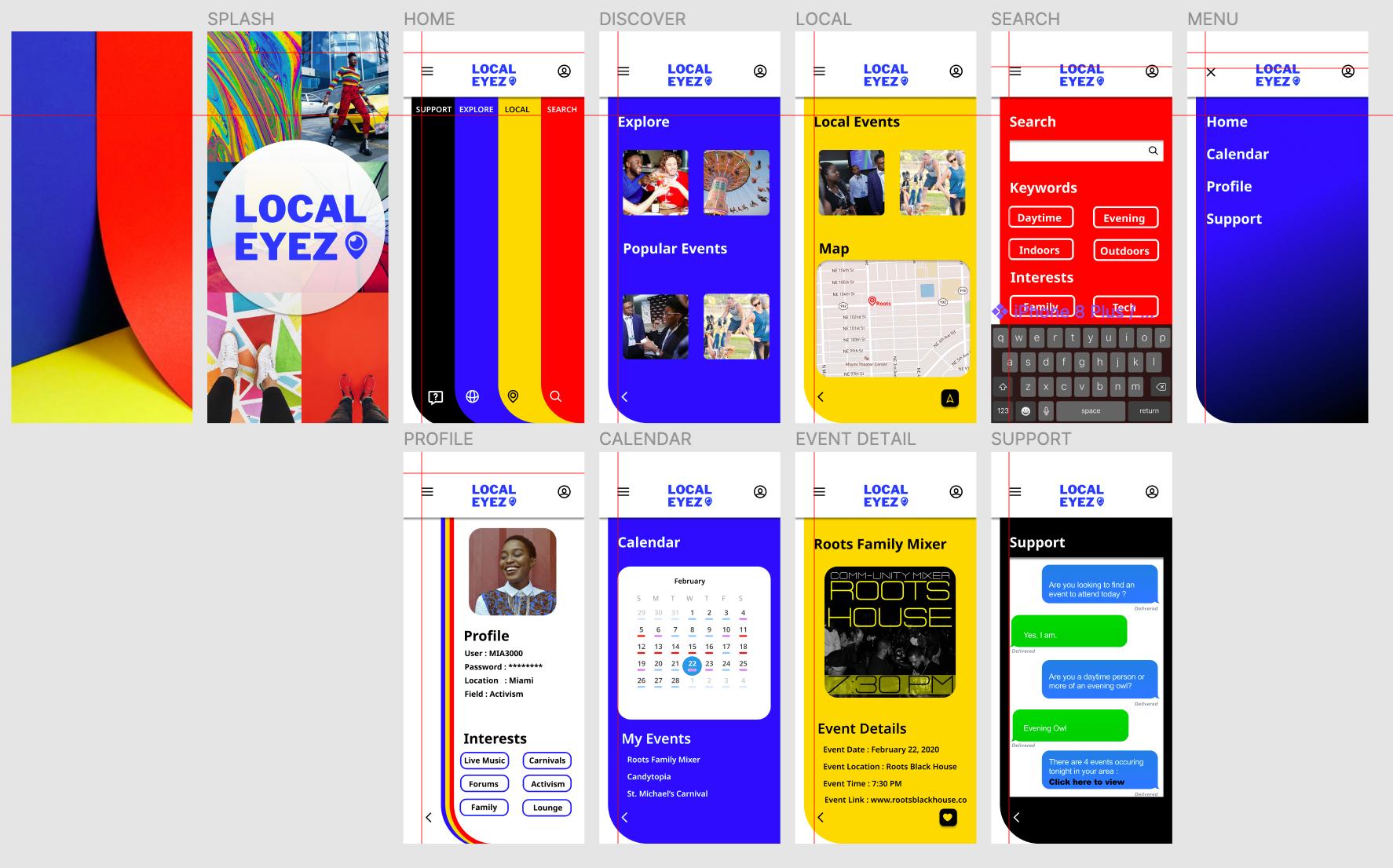 Local Eyez : Creative Local Activities App