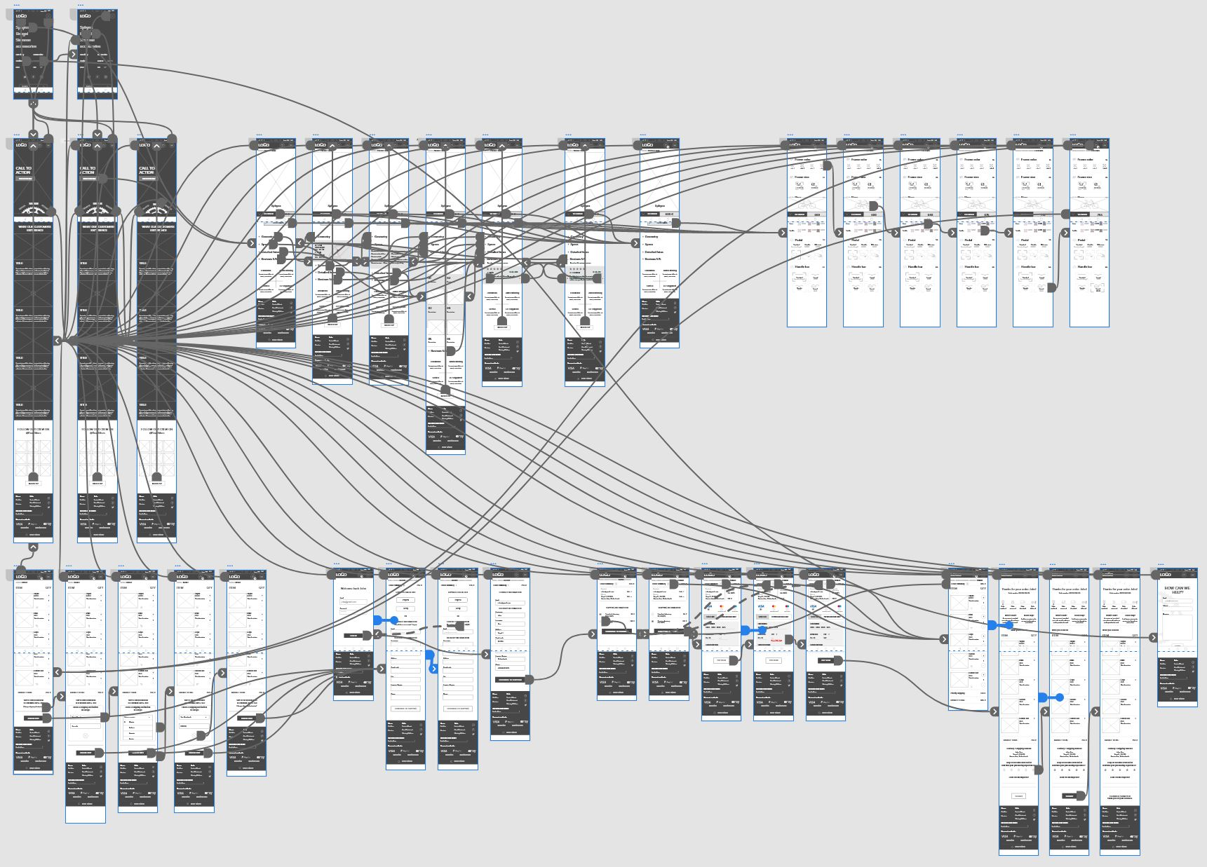Interactive prototype [Adobe XD].