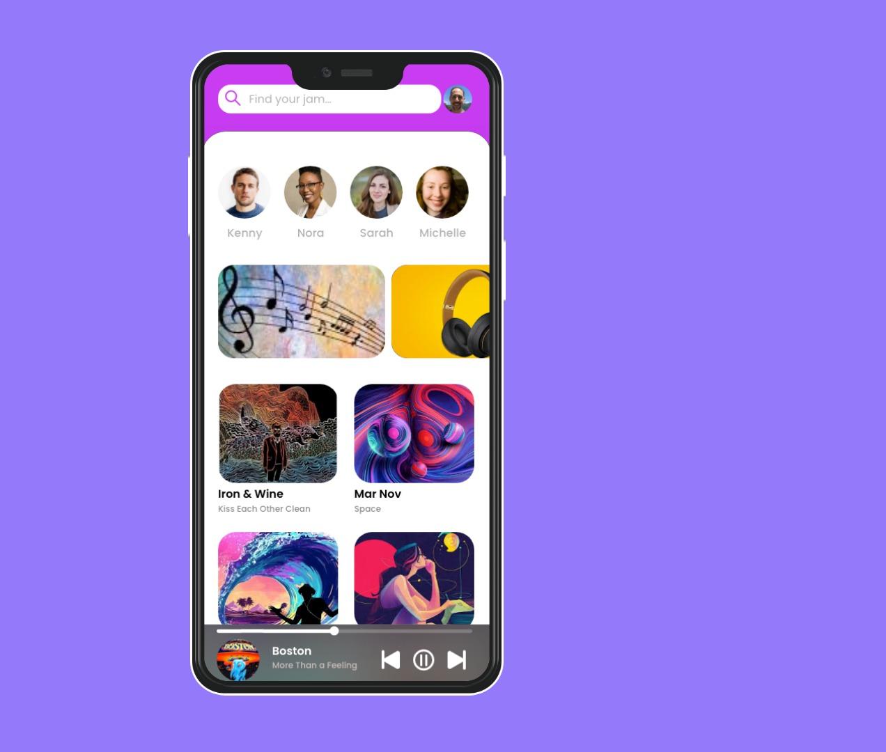 Music app Prototype
