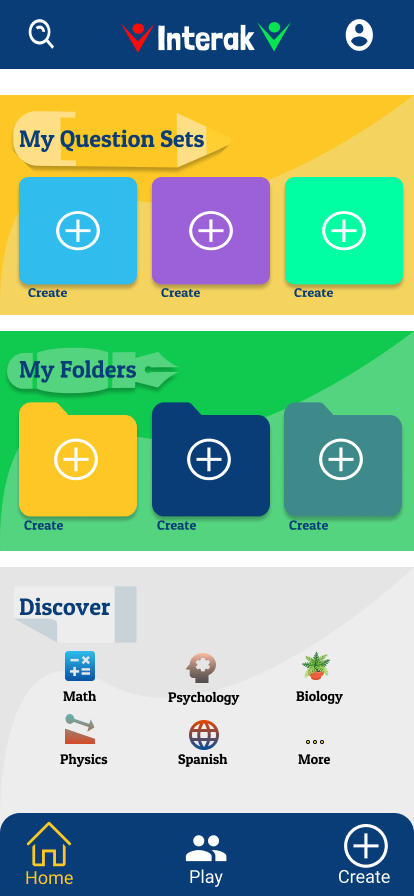 Interak: A game-based learning app