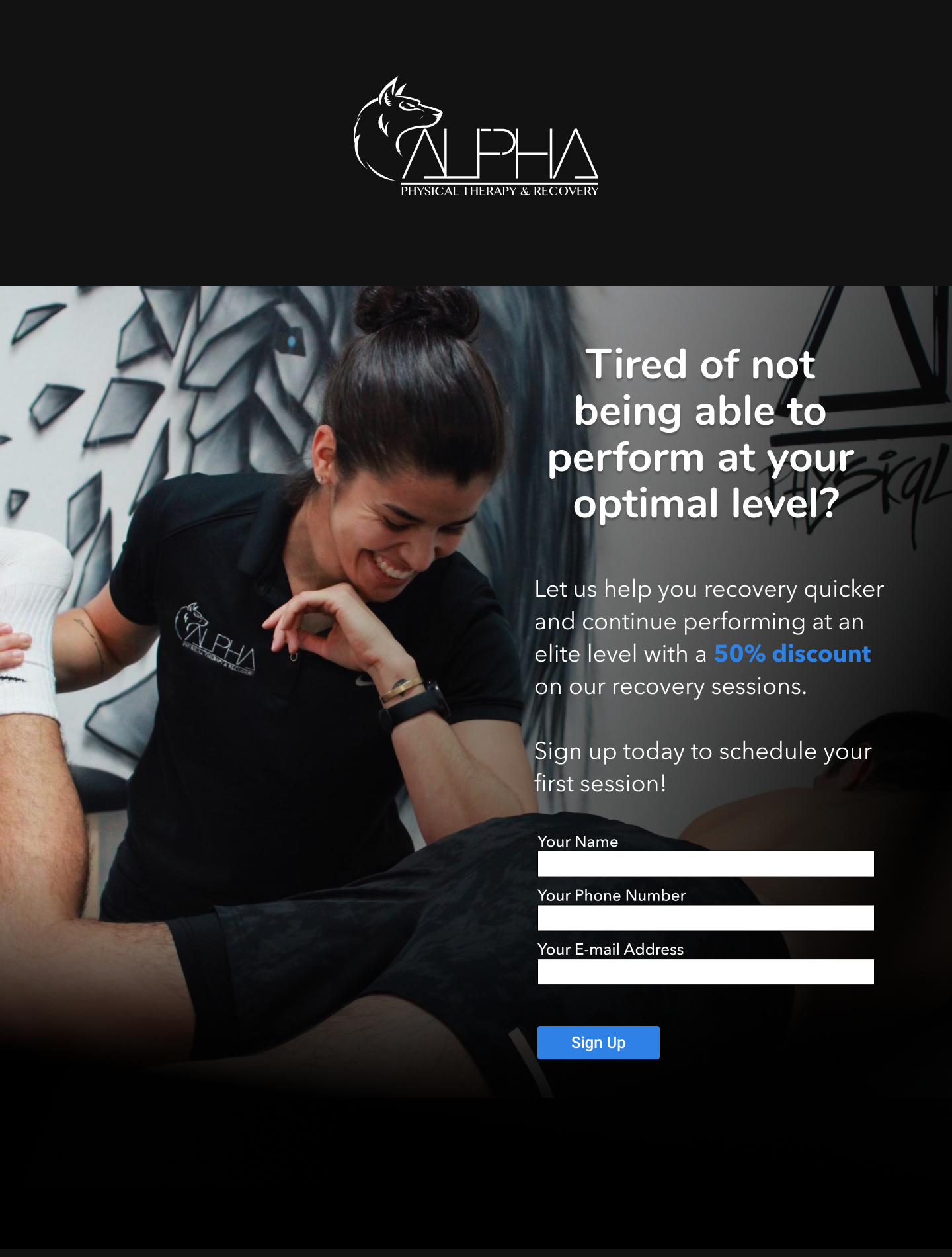 Alpha Physical Therapy & Recovery