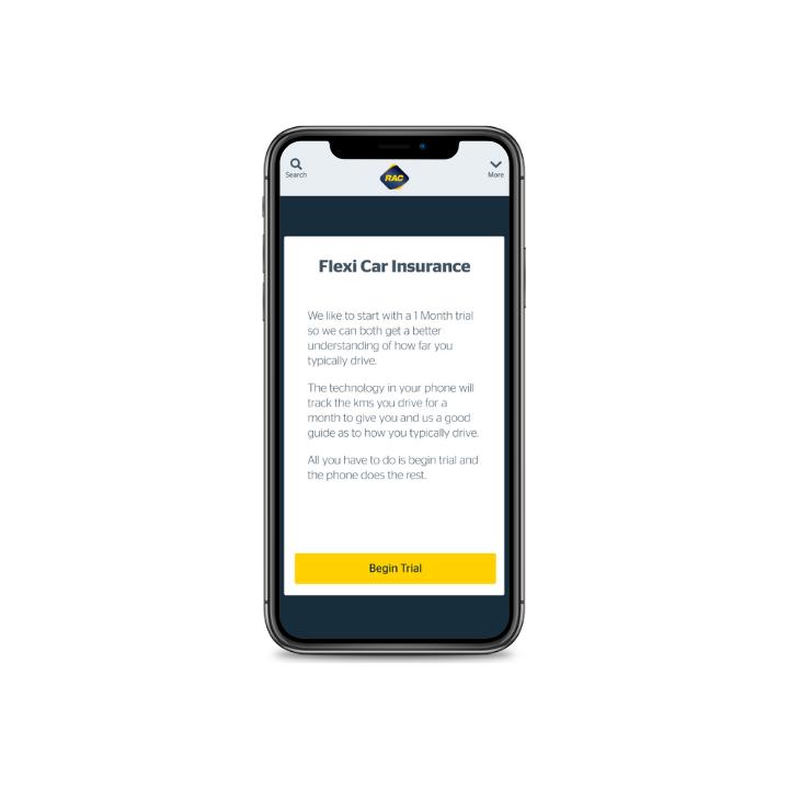 RAC WA - Flexi Car Insurance App