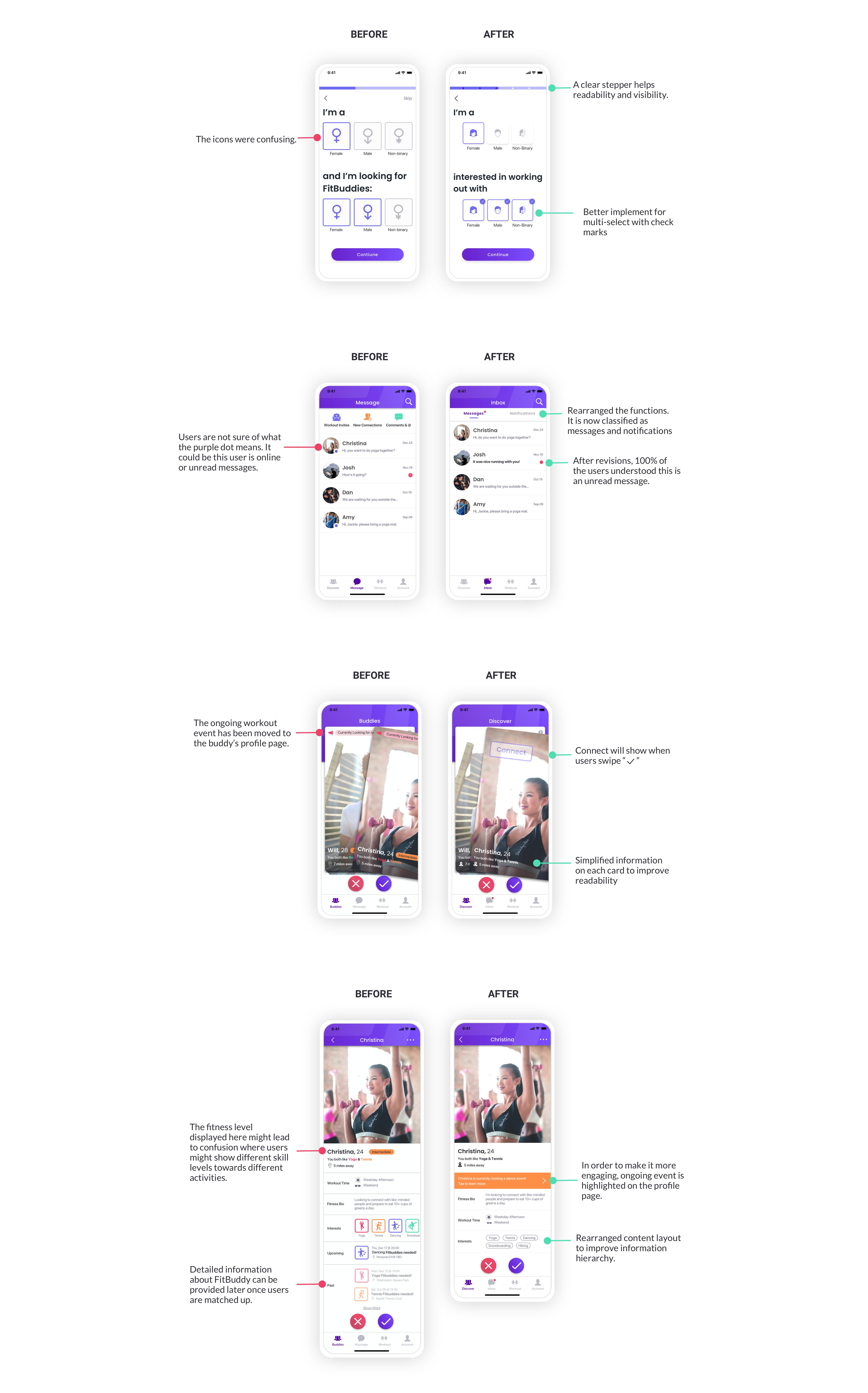 FitBuddy - Fitness Social App