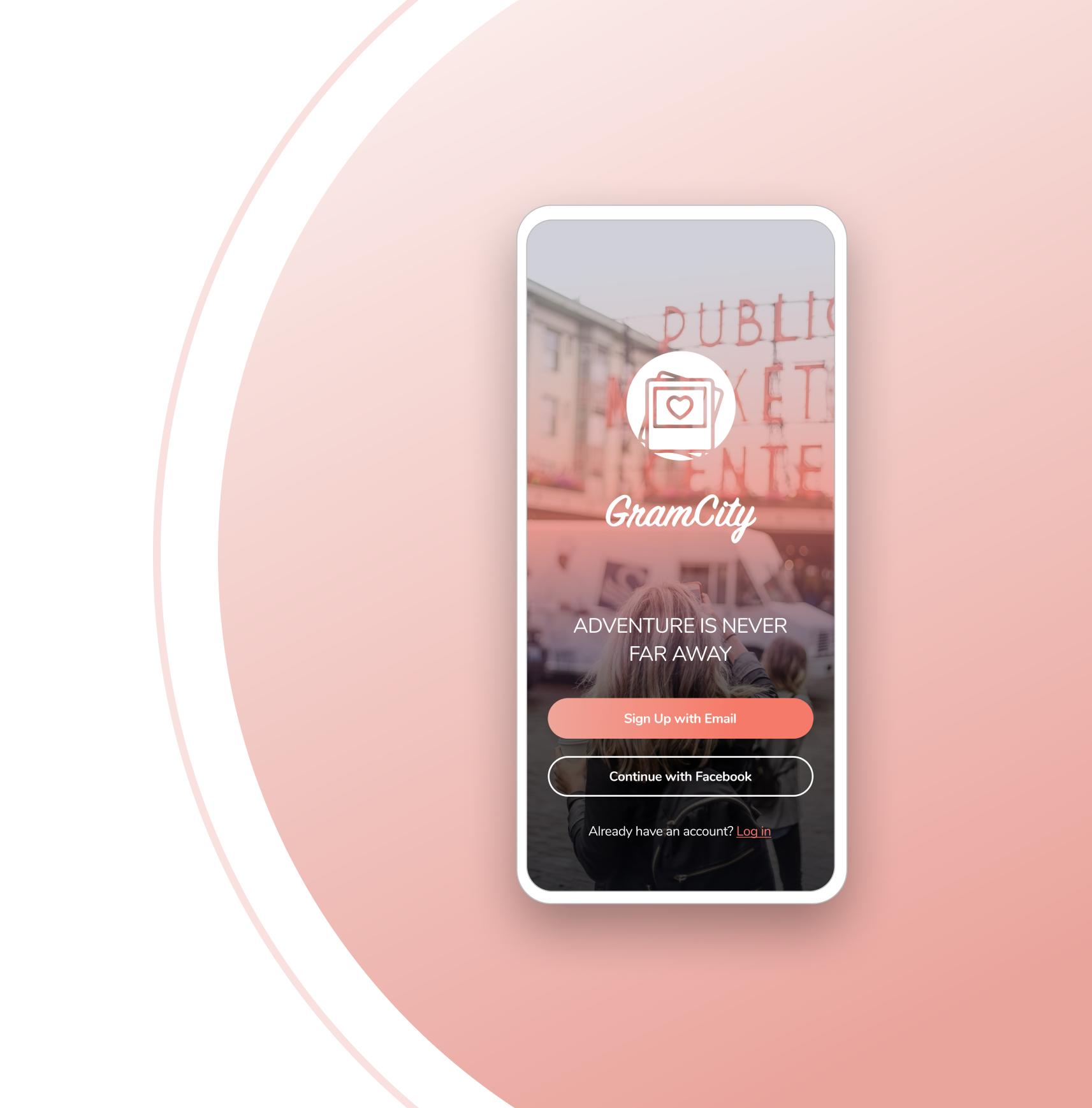 GramCity - Travel Photo Inspiration App