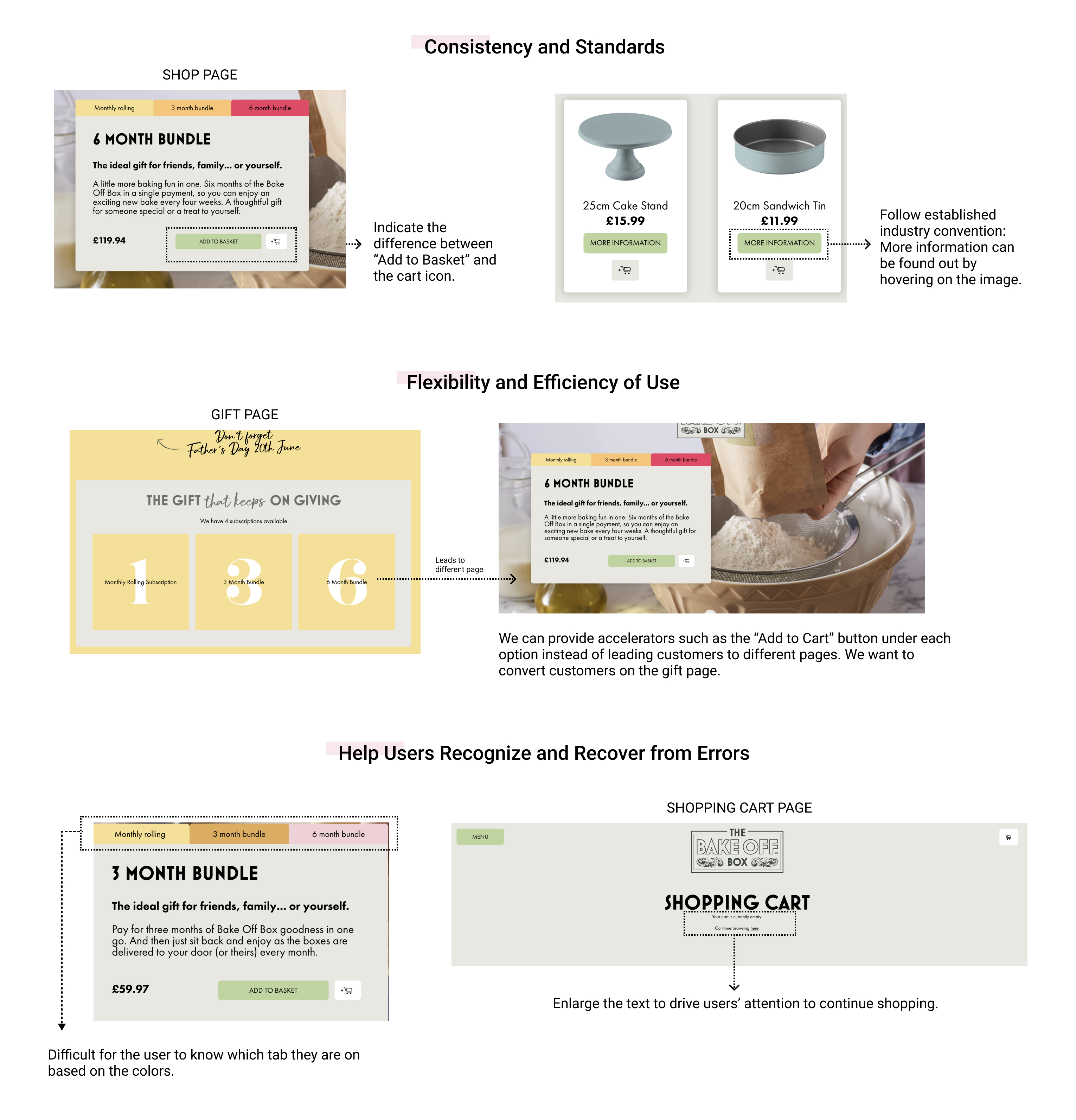 The Bake Off Box - Baking Subscription eCommerce