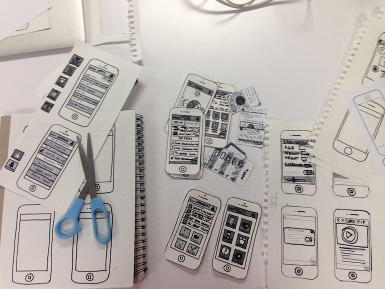 Design Studio sketches