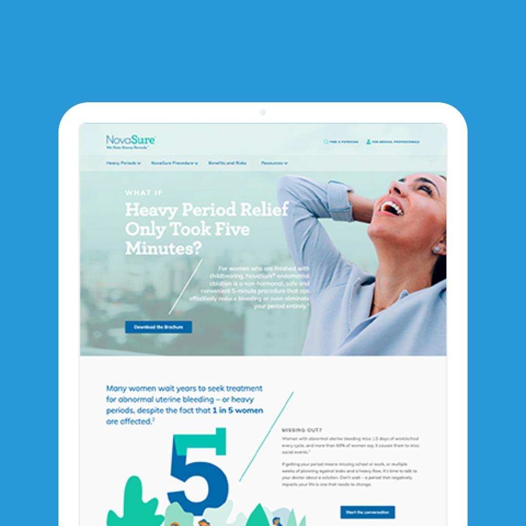 Patient Website Redesign