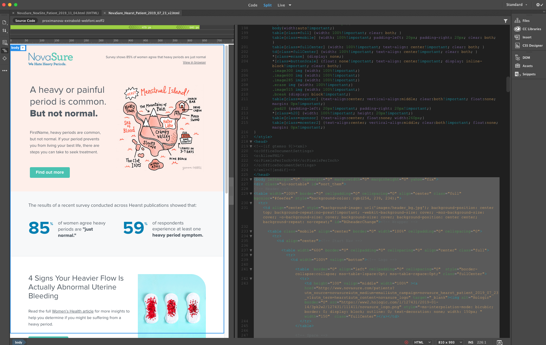 HTML Email Design & Development