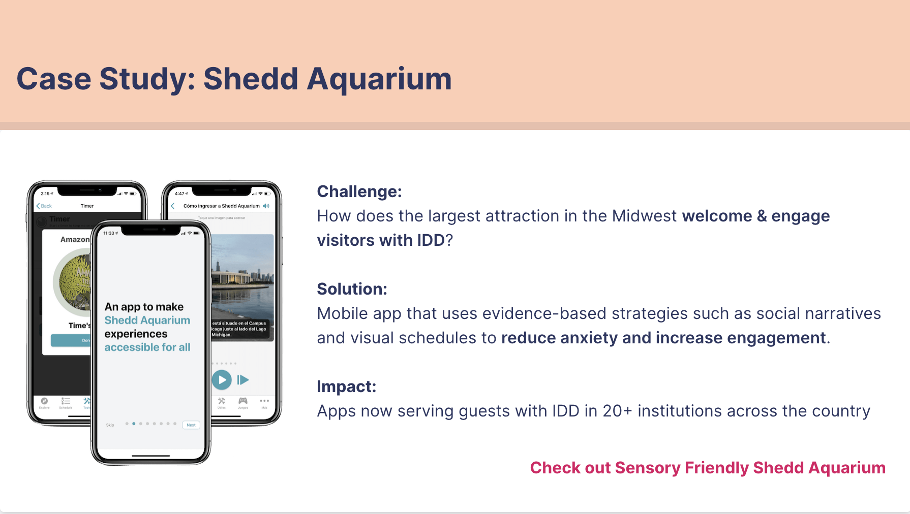 Redesigning the Shedd