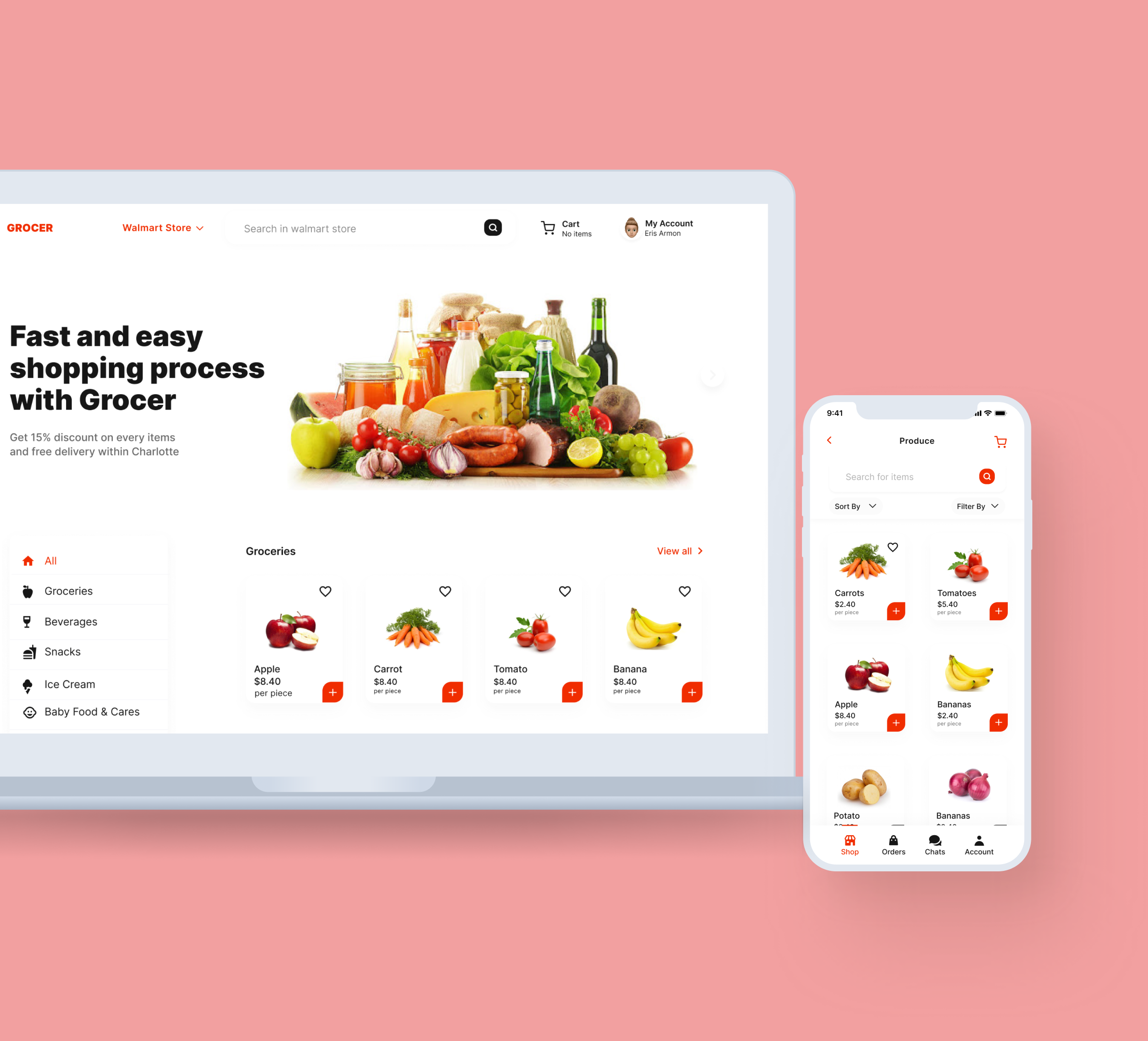 Grocer Delivery - Coming soon