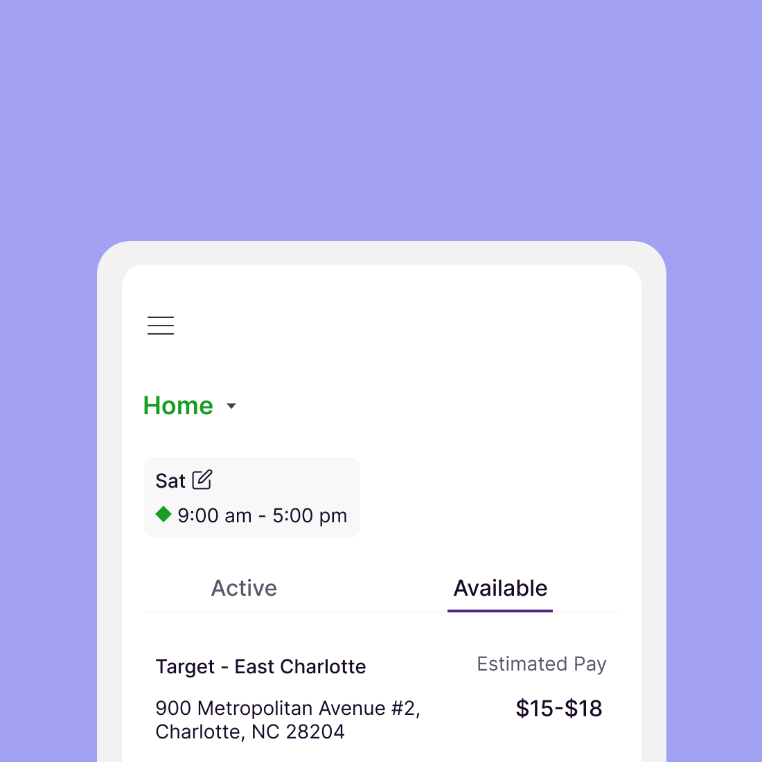 GROCERY SHOPPER APP (REDESIGN)
