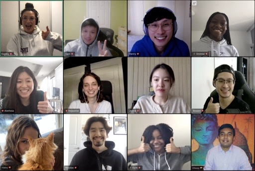 My amazing team members made up of designers, data scientists and developers