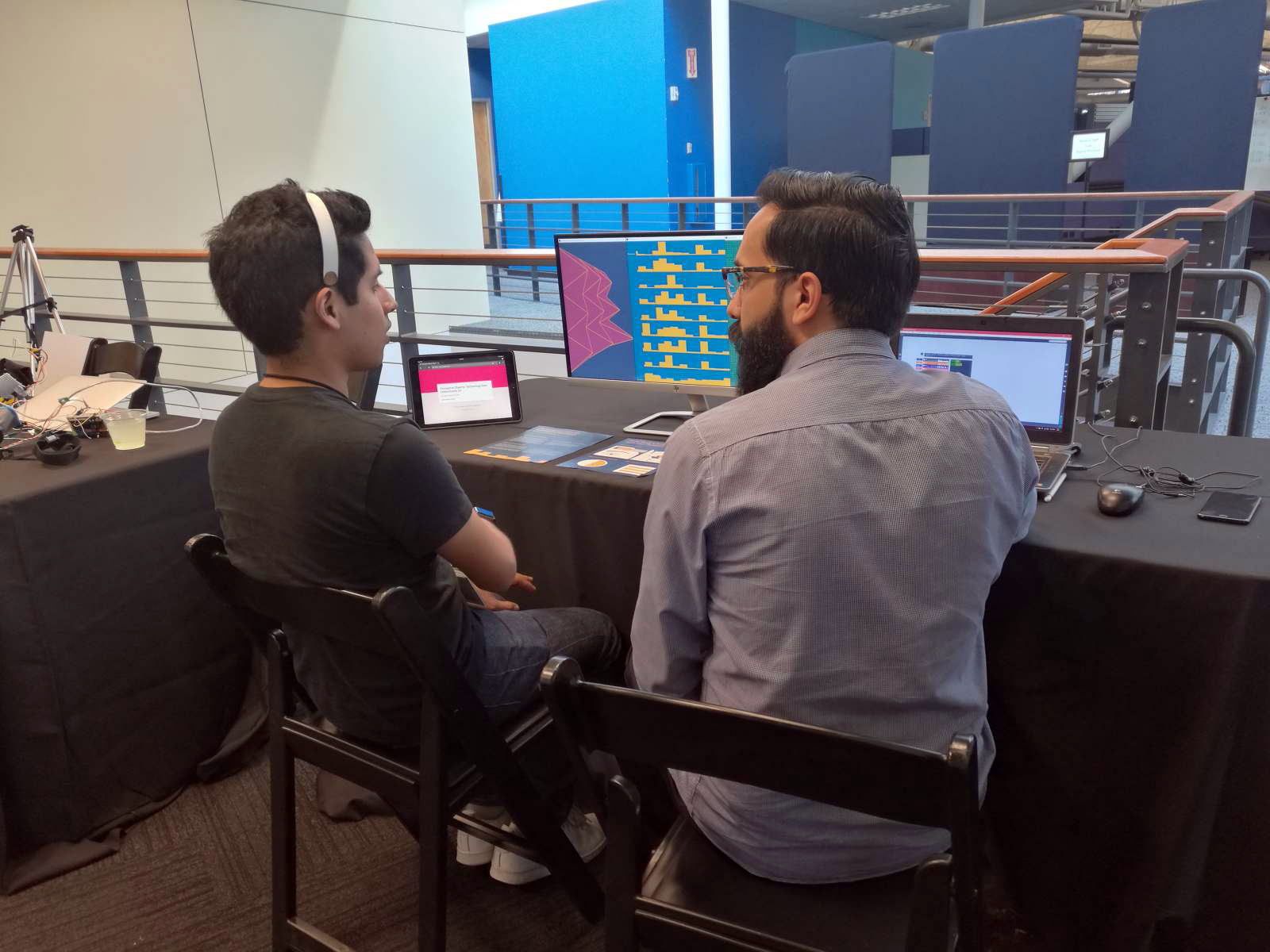 Multi-Sensory Interactions with EEG Data