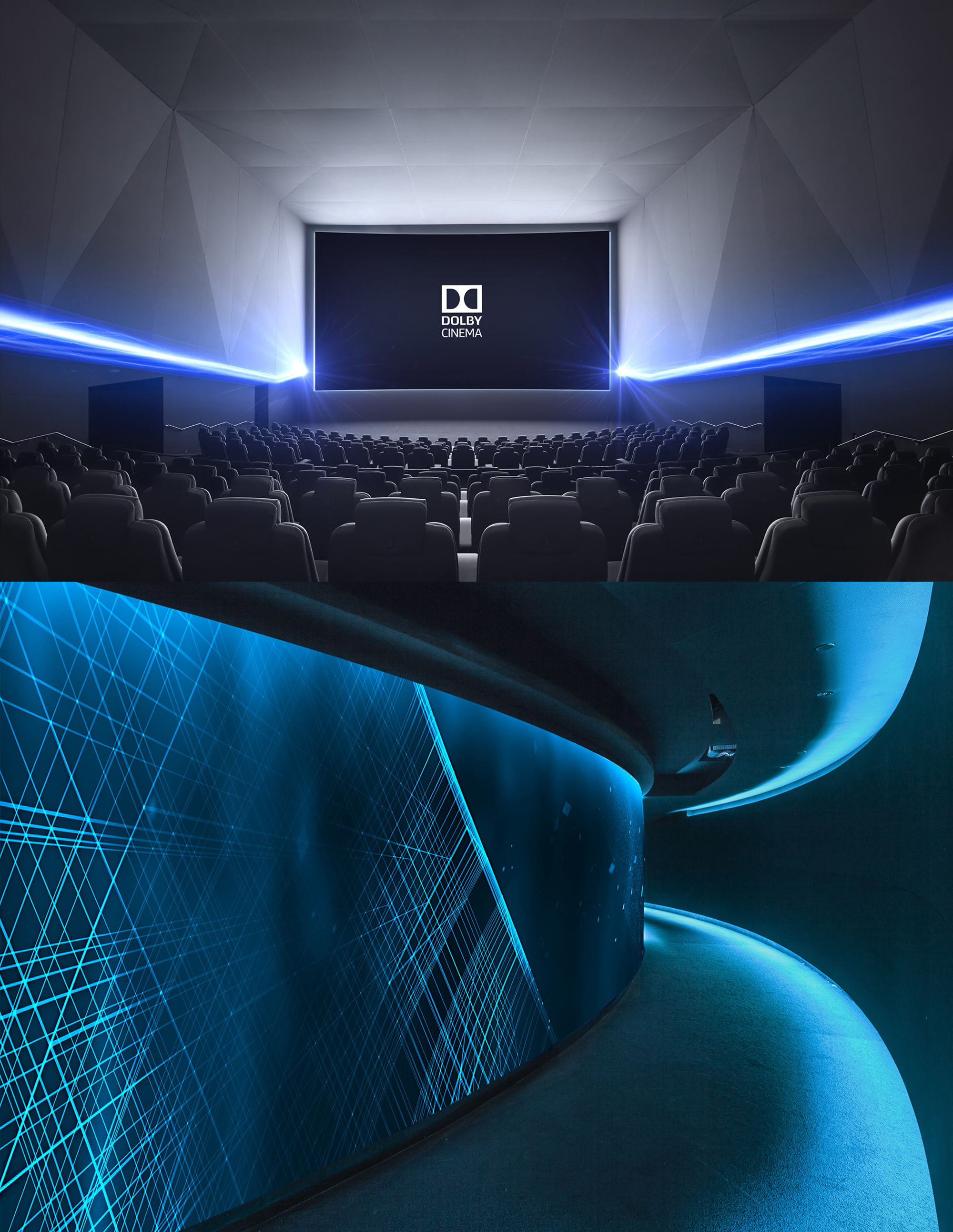 Project: Dolby CinemaMy Role: Concept design and renderings for interactive lighting