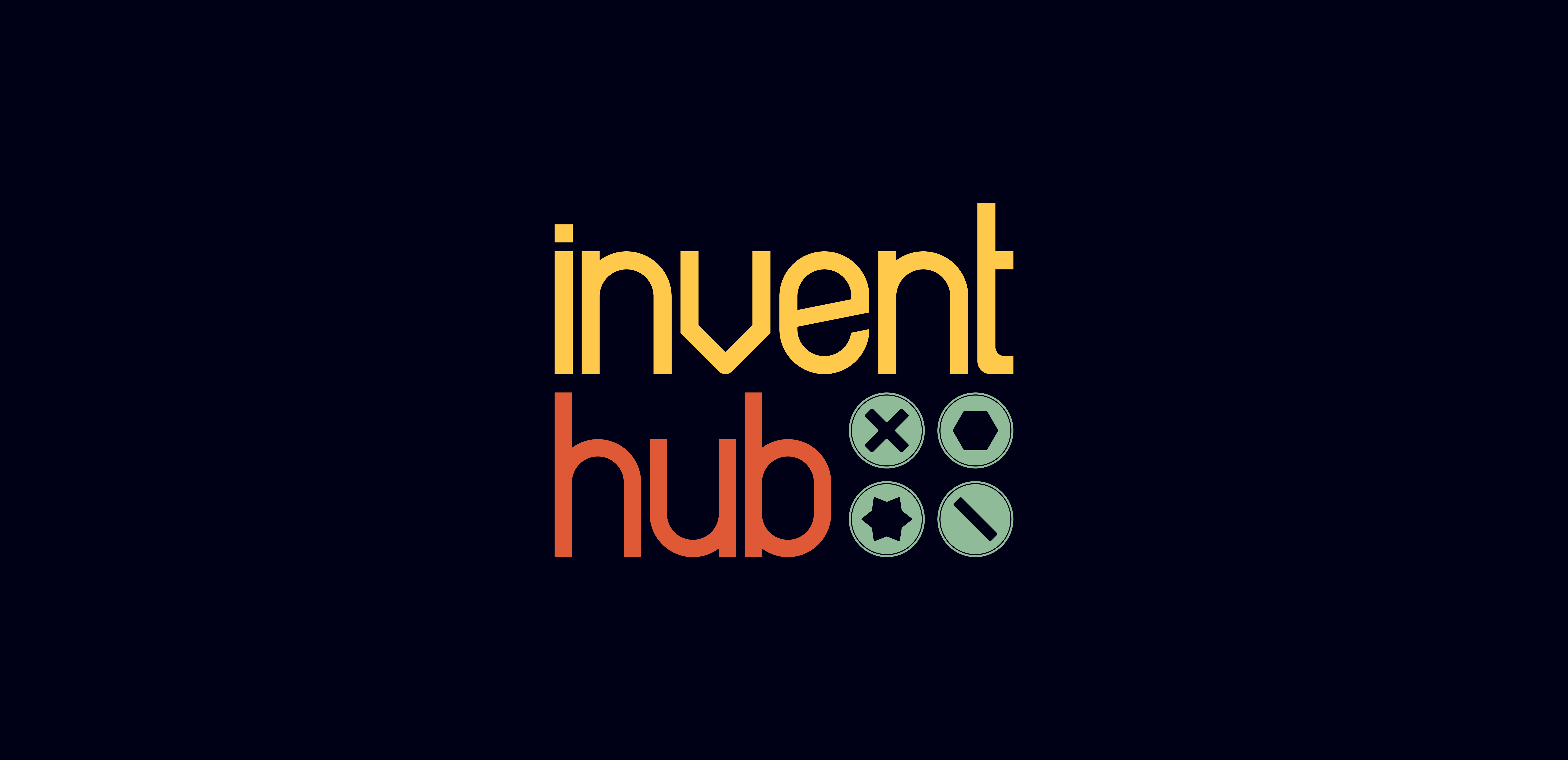 InventHub logo in full colour