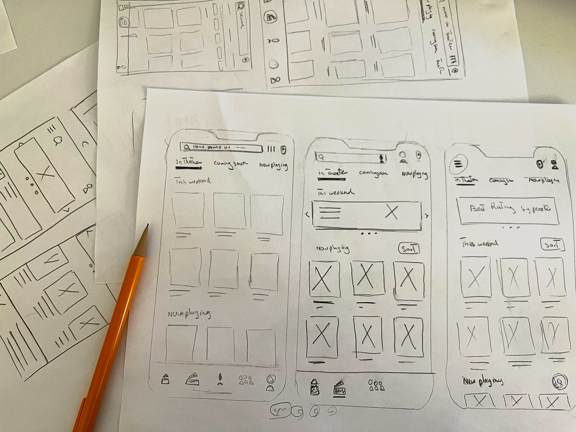 Paper wireframe