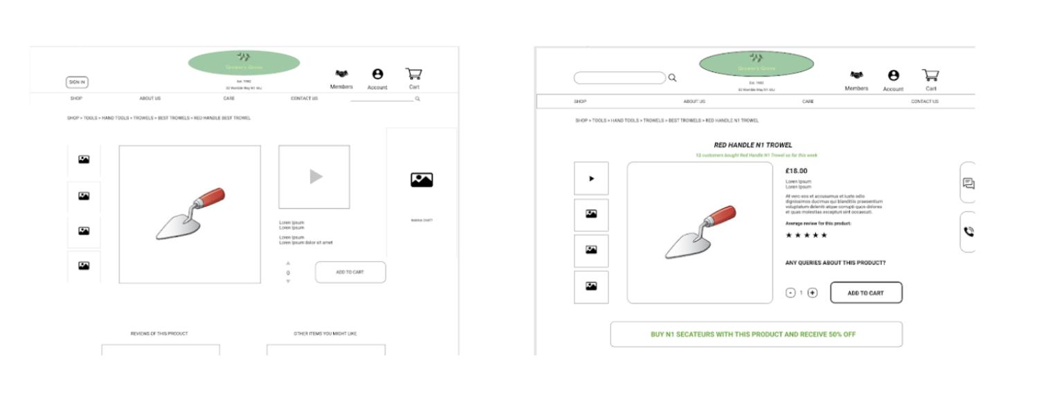 Grower's Grove - an E-commerce site