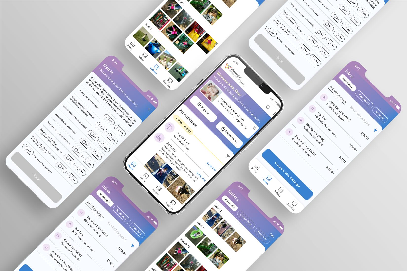 Communication Mobile App