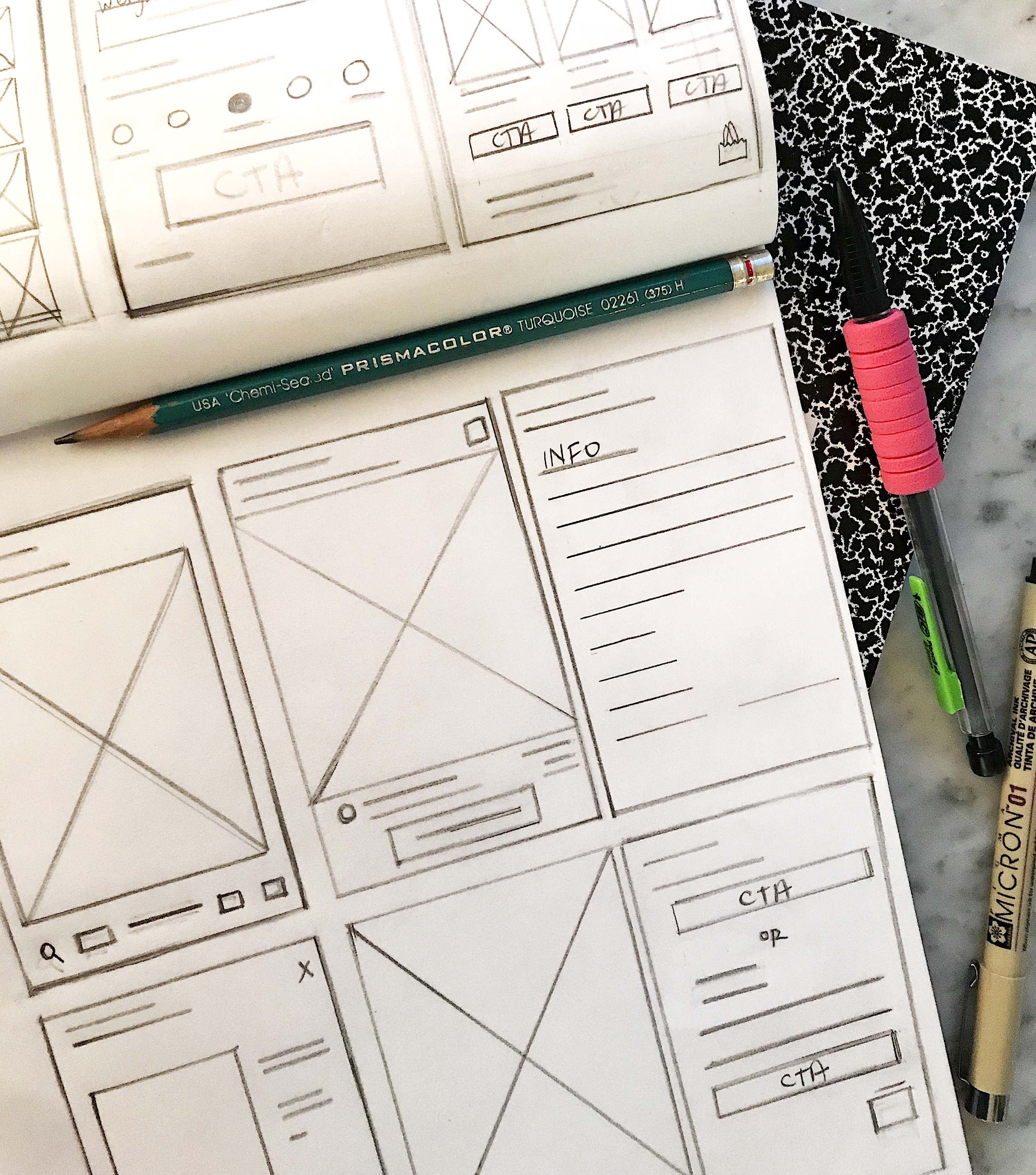 Mobile View Wireframes V1