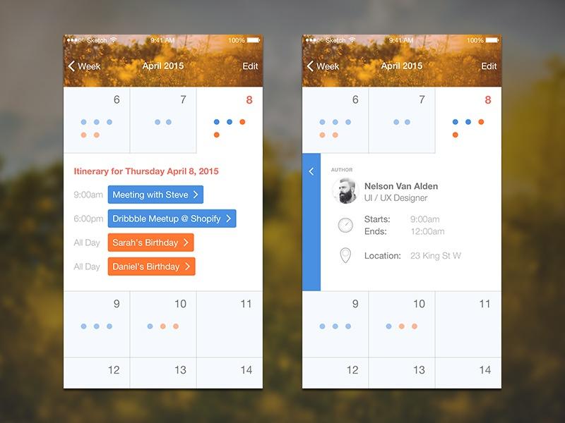 Assorted UI Design