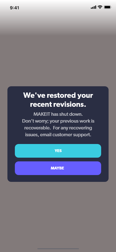 Daily UX Writing Challenge
