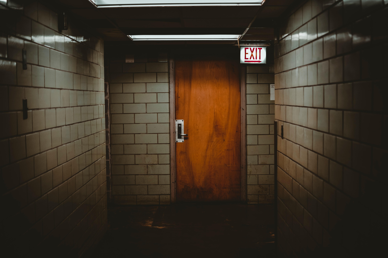 I hadn't considered the danger aspect of locked doors.