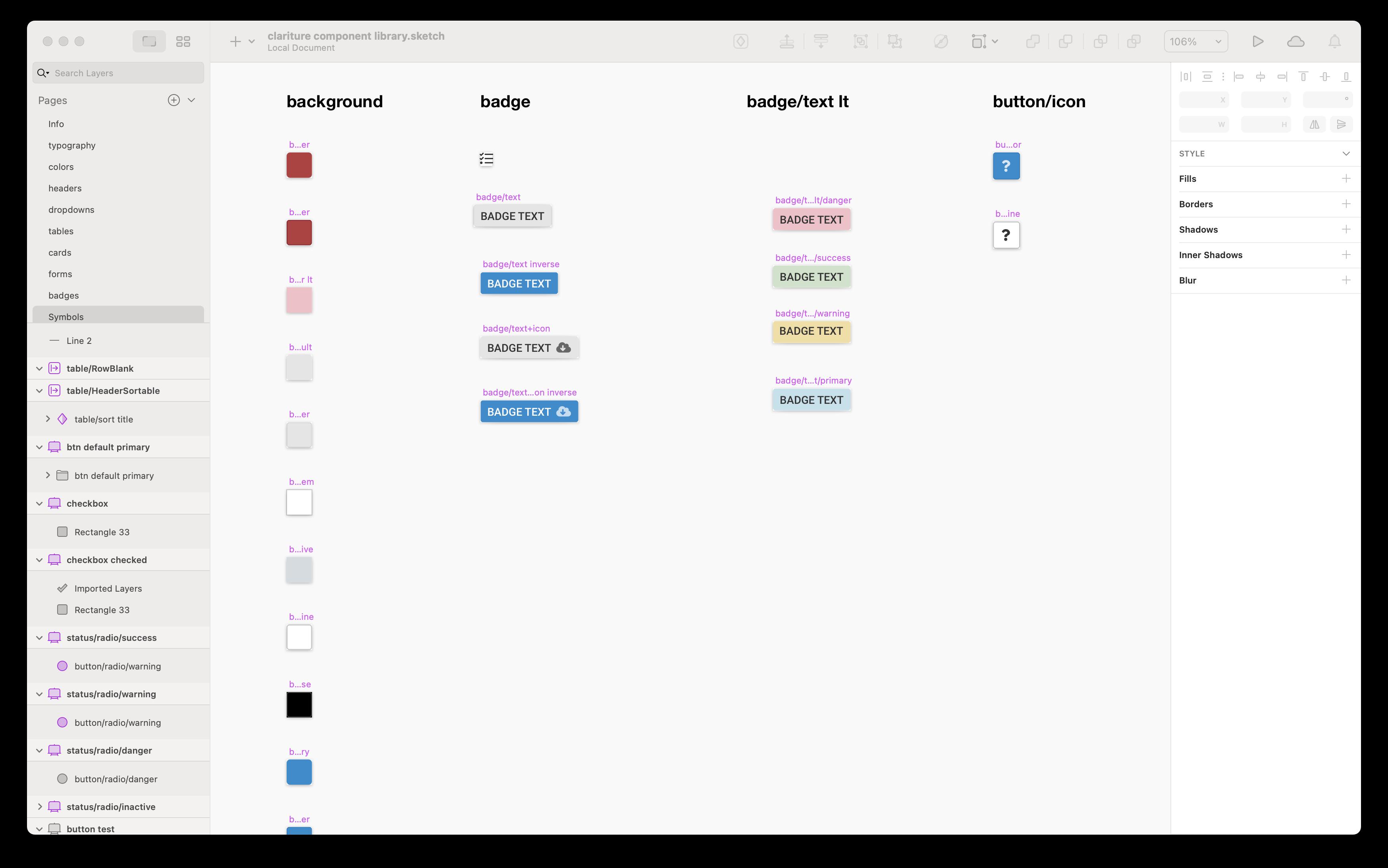 An Integration Driven Design System