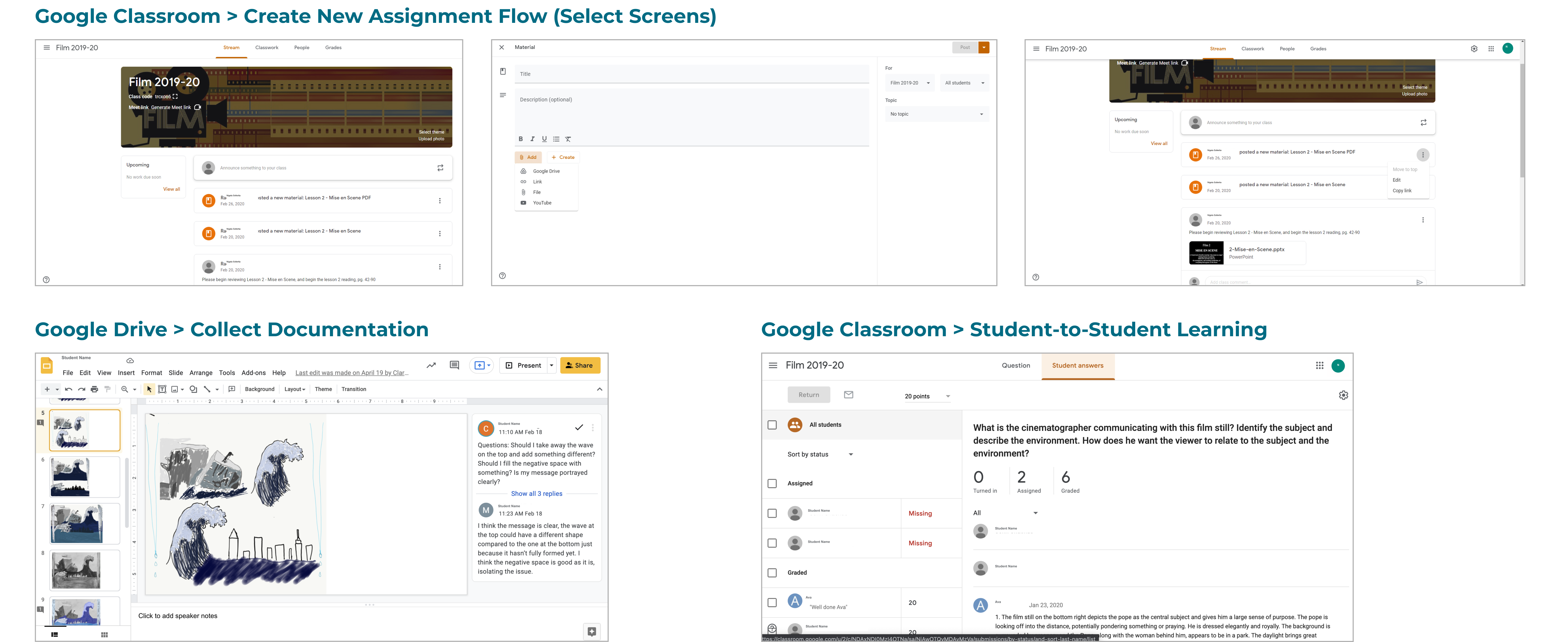 Streamlining Remote and Hybrid Learning