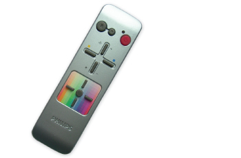 The original remote control that was supplied with the ceiling lamp