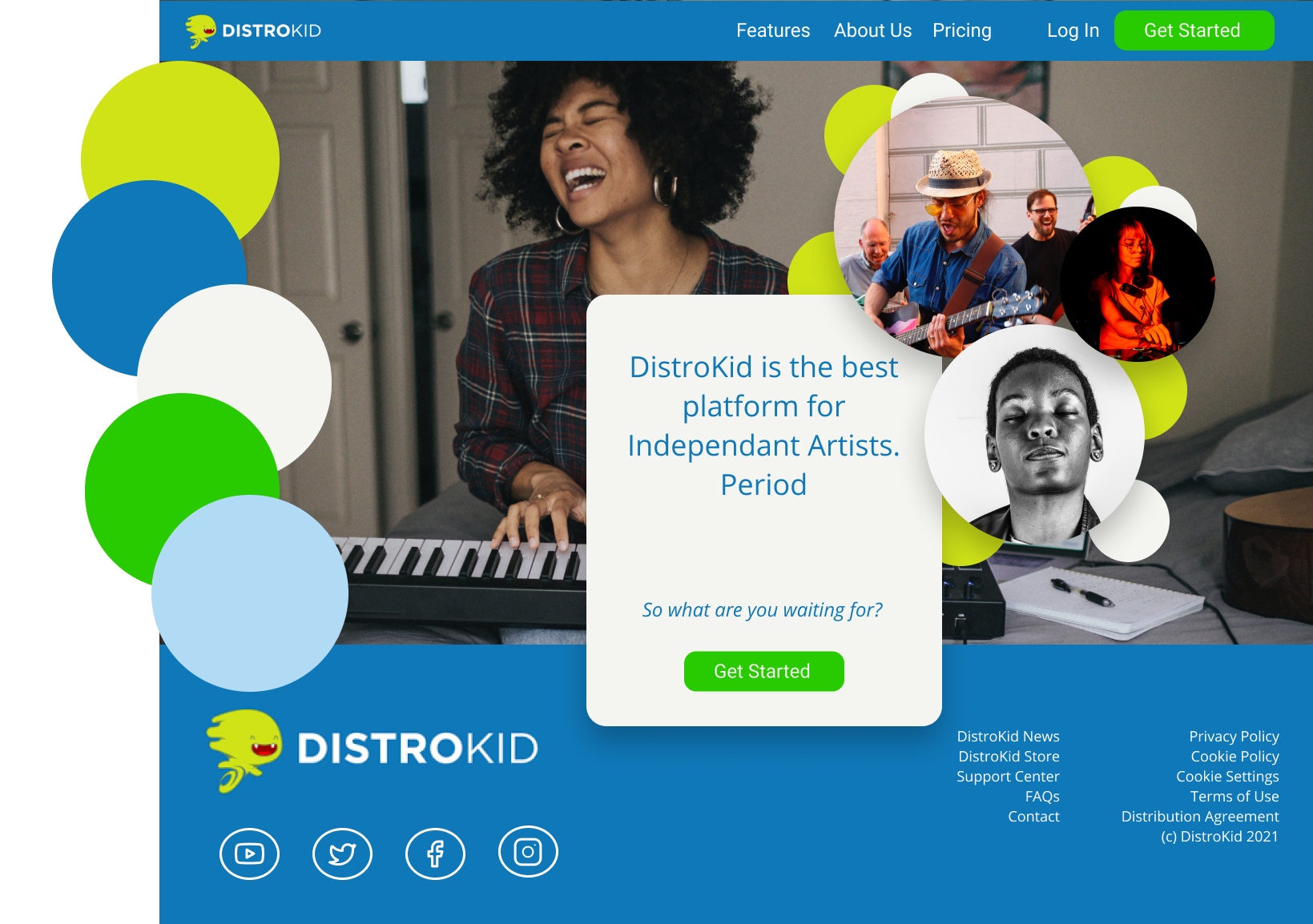 The DistroKid Redesign