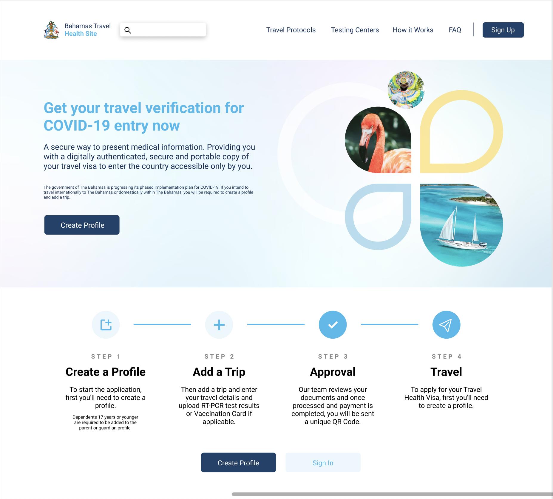 Bahamas Travel Visa Reimagined