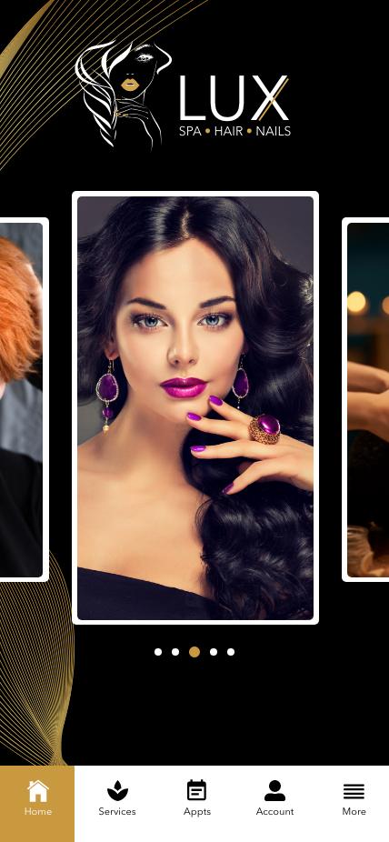 LUX: Spa + Hair + Nails