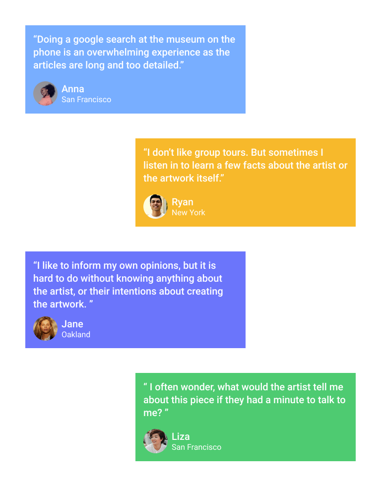 User Research Highlights