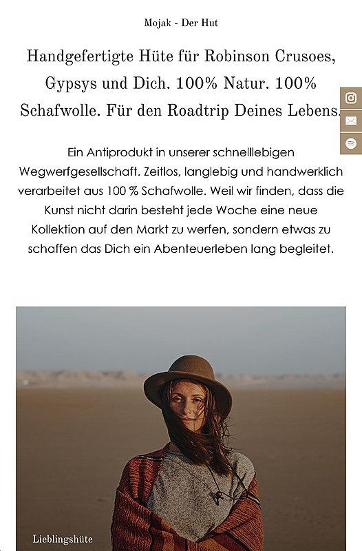 Mojak - Der Hut für den Roadtrip deines Lebens 5