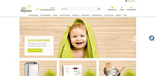 Birke Wellness Online Shop