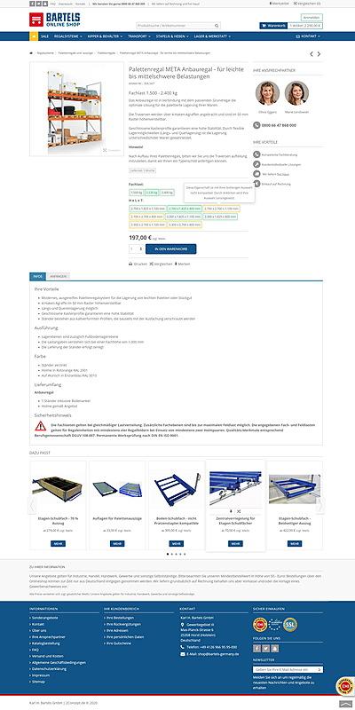 Karl H. Bartels GmbH - Online Shop 3