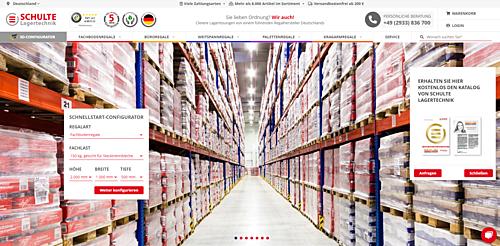 Onlineshop SCHULTE Lagertechnik