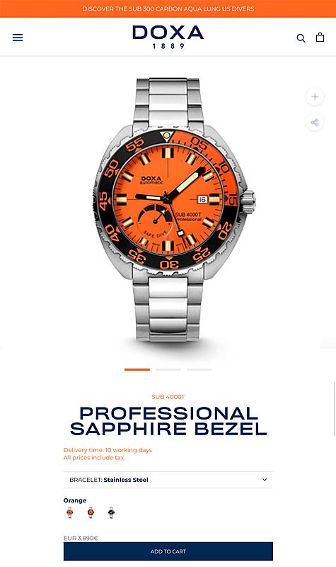 Doxa Watches 3