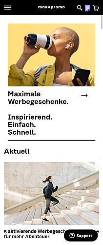 max x promo: Werbeartikel - Inspirierend. Einfach. Schnell